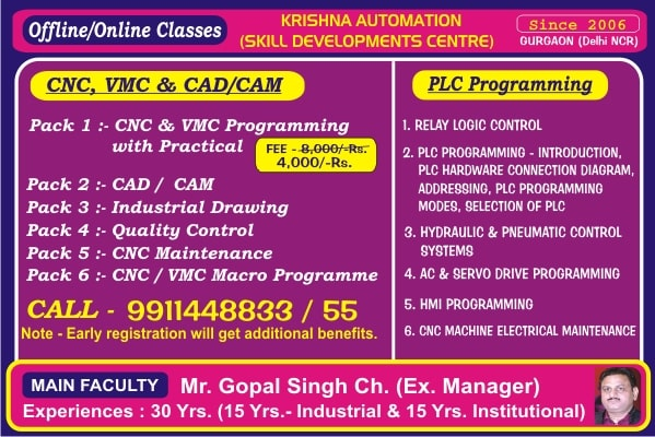 Cnc Training In Gurgaon Delhi Ncr Cnc Training Institute